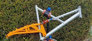 "Marin Mount Vision, full suspension mountain bike frame 18"""