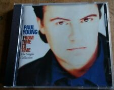 From Time to Time Singles Collection by Paul Young GREATEST HITS CD USA 1991