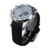 Mini Gadgets 1080P HD Night Vision Watch Hidden Nanny Spy Camera 16GB