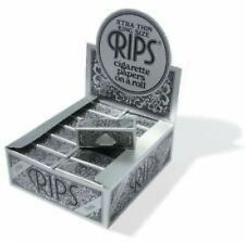 Rips Rolling Paper - Black Xtra Thin King Size  24 Pack