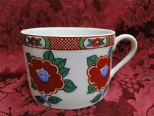 Fitz & Floyd Camellia White, Red & Green: Cup only
