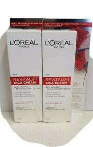 L'Oreal Revitalift  Repair Anti-Wrinkle Cica Cream with centella  40ml x 2 tubes
