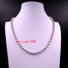 50pcs Lot wholesale best price Stainless Steel Ball Chain necklace 4mm 24''