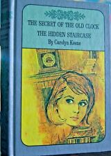 NANCY DREW TWIN THRILLER  DOUBLE MYSTERY  #1 CLOCK  #2 STAIRCASE $15+SHIPS FREE