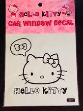 SANRIO HELLO KITTY Car Window Decal - Black - Nakajima USA Inc.