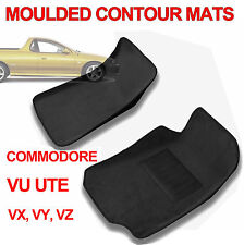 To suit Holden VU VX VY VZ Commodore Ute Moulded 3D Carpet Car Floor Mats