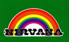 NIRVANA SURFBOARDS Vintage Retro Sticker Decal 1960s 70s LONGBOARD SURFER SURF