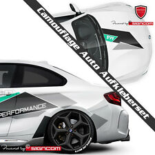 Camouflage V3 Auto Aufkleber Tuning Styling Komplettset für alle Fahrzeugmodelle