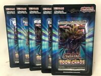 Yugioh Toon of Chaos Unlimited Edition Blister Packs (5)