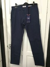 RHODE ISLAND blue slim fit chinos waist 30/leg 32 new with tags