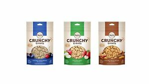 Nutro All Natural Crunchy Training Treats For Dogs 3 Flavor Variety Bundle: (...