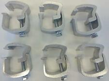 API - 6 Piece Rocker Style Truck Cap Mounting Clamps (AC101)