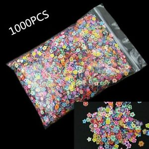 Charms Flatback Polymer Clay Craft Scrapbooking Embellishments 1000Pcs 12 Styles