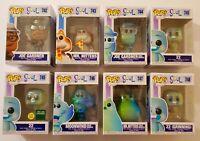 Funko Pop! Set/Lot - Disney•Pixar: Soul - Complete Set of 8 Including GITD 22