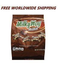 Milky Way Minis Milk Chocolate Candy 9.70 Oz WORLDWIDE SHIPPING