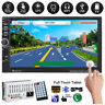 "7"" HD 2DIN MP3 MP5 lettore GPS Sat Navi Touchscreen Bluetooth USB/TF/FM Radio"