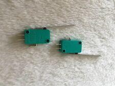 Microswitch CQC à très longue palette  Type KW7 microswitch. 2,5 ou 10.  7-42