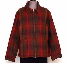 FASHION BUG Women's Wool Blend Plaid Jacket Size XL 16W