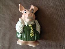 vintage NATWEST pig money box ANNABEL