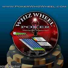 Poker Strategy, Poker Whiz Wheel Ultimate and complete poker hand guide