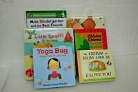 Children's board books set of 6 different titles Real nice books for kids