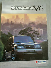 Suzuki Vitara V6 brochure Mar 1995 German text