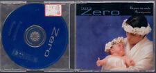 RENATO ZERO LA PACE SIA CON TE + POESIA POESIA  1998 CD SINGLE