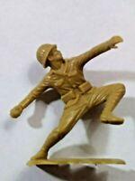 Vintage Marx Japanese Infantry WW2 54mm Throwing Grenade 1970s