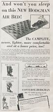 1930 AD(XG11)~CONVERSE RUBBER CO. MALDEN, MASS. NEW HODGEMAN AIR BED
