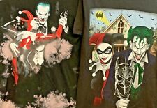 Harley Quinn/Joker Graphic T-shirts Lot Of 2 Size Small - Great Condition
