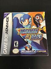 Nintendo GameBoy Advance - Mega Man & Bass US CIB, boxed very good condition
