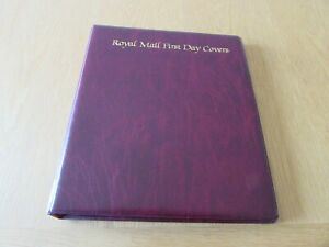 Royal Mail First Day Cover Album, includes 12 sleeves. Excellent condition.