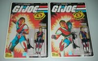 RECARDED 1985 GI Joe Tomax & Xamot Figures Complete Sealed CUSTOM File Card Back