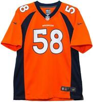 Nike Von Miller Denver Broncos Orange Game Youth NFL Jersey XL