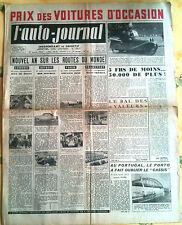 L'AUTO-JOURNAL n°45 du 1/1952; Nouvel an sur les routes du monde/ Hillman Minx