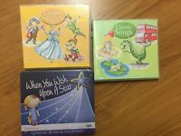 NEW 3 X Childrens Kids CD CDs Classic Stories + Songs + Disney Bedtime SEALED