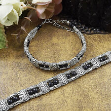DIY NEW Fashion Free shipping Jewelry Tibet jade turquoise bead bracelet S184D