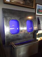 Airplane Fuselage panel Art, Aviation Art, Airplane Window, Aircraft