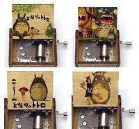 TOTORO ANIME HAND CRANK MUSIC BOX  MUSIC THEME TONARI NO TOTORO GIFT