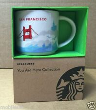 BRAND NEW STARBUCKS SAN FRANCISCO MUG CUP YOU ARE HERE COLLECTION SERIES LIMITED