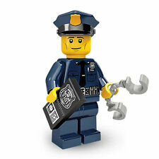 LEGO Policeman - Collectable Minifigure - Series 9 - NEW Cop Minifig - Genuine