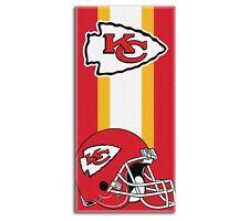 "New Football Team Kansas City Chiefs Beach Towel Bath 30'' x 60"" Licensed"