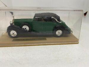 Solido 1:43 Diecast Model 1939 Rolls Royce Green/black
