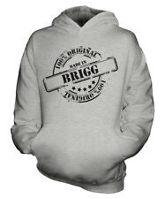MADE IN BRIGG UNISEX KIDS HOODIE BOYS GIRLS CHILDREN TODDLER GIFT CHRISTMAS