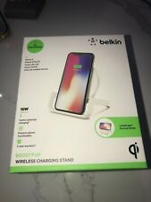 Belkin Boost UP 10W Qi High Speed Wireless Charging Stand White