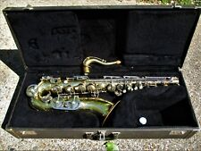 VINTAGE TENOR SAXOPHONE, 1960'S, MADE IN iTALY, CASE