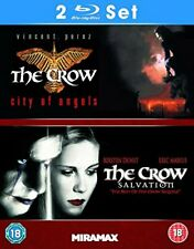 The Crow: City Of Angels / The Crow: Salvation [Blu-ray] [DVD][Region 2]