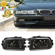 2Pcs for BMW E39 528i 540i Z3 95-00 Front Driving Bumper Clear Fog Lights Lamps