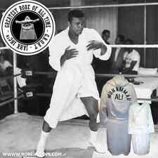 NEW Muhammad Ali Bath robe the greatest GOAT boxing 100%25 cotton White Luxury