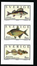 Sweden 2001  Fish; bass, bream, deepwater sculpin   MNH